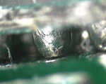 cracked BGA solder joints